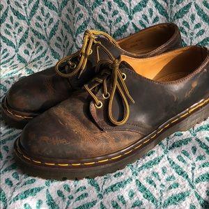 Vintage Dr Martens Brown Shoes